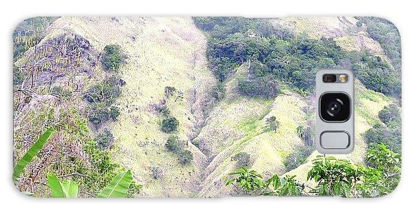 Penuelas, Puerto Rico Mountains Galaxy Case