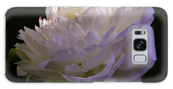 Peony At Eventide Galaxy Case by Marilyn Carlyle Greiner