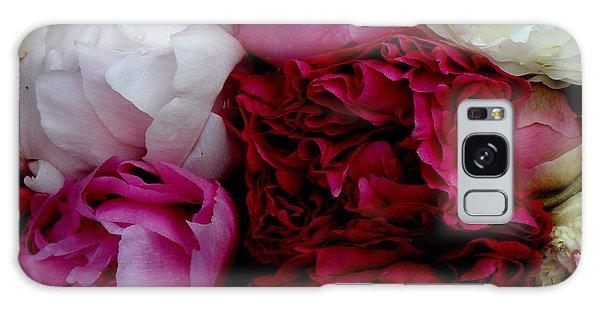 Peony Bouquet Galaxy Case