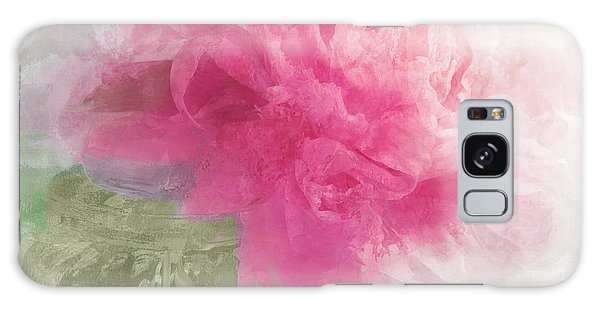 Light Paint Galaxy Case - Peony Mist by Mindy Sommers