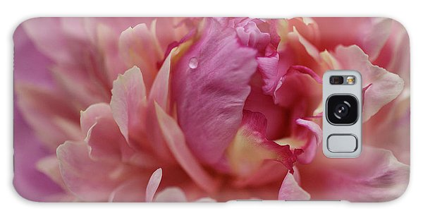 Peony Opening Galaxy Case by Sandy Keeton