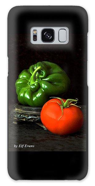 Pepper And Tomato Galaxy Case