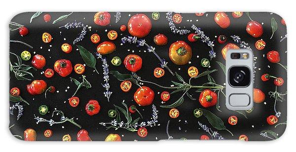 Pepper Pattern Galaxy Case