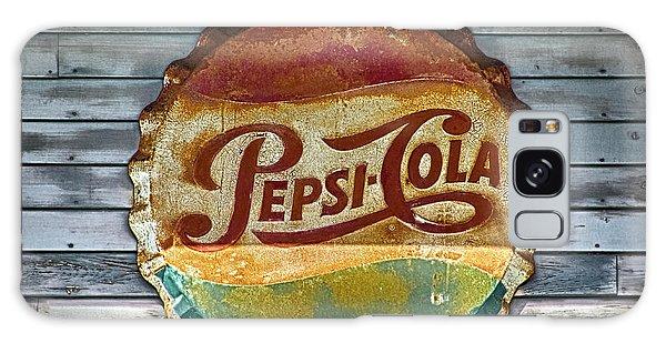 Pepsi-cola Sign Vintage Galaxy Case