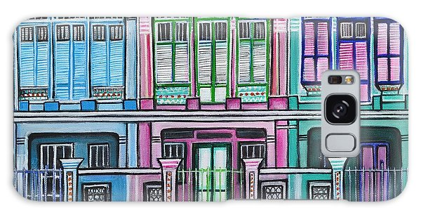 Peranakan Mansion Singapore Galaxy Case