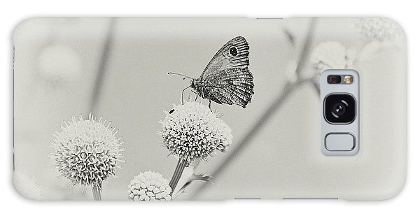 Perched Butterfly No. 255-2 Galaxy Case