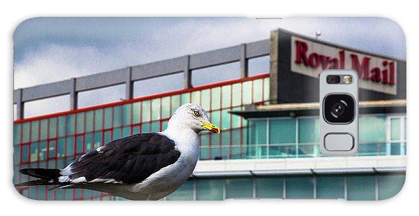 Perched Gull Galaxy Case