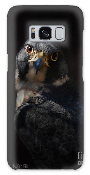 Peregrine Falcon Galaxy Case
