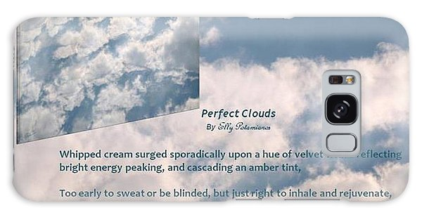 Perfect Clouds Galaxy Case