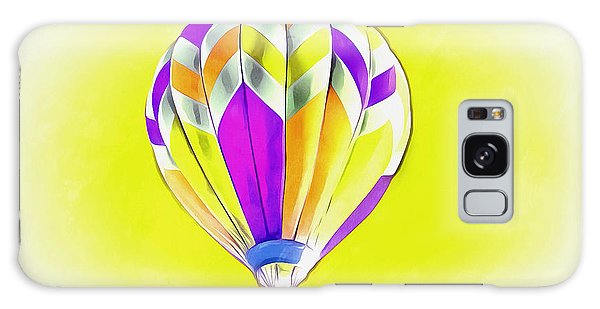 Hot Air Balloons Galaxy Case - Perfect Day by Krissy Katsimbras