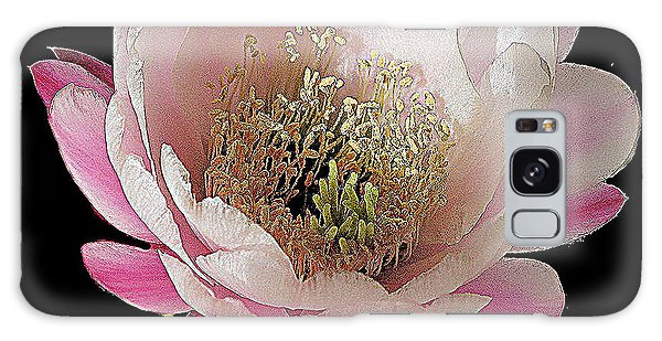 Perfect Pink And White Cactus Flower Galaxy Case