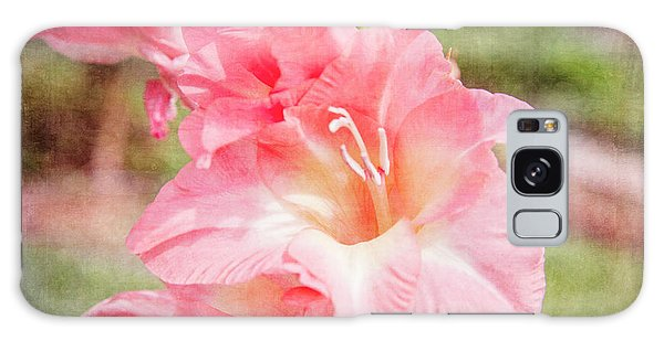 Perfect Pink Canna Lily Galaxy Case by Toni Hopper