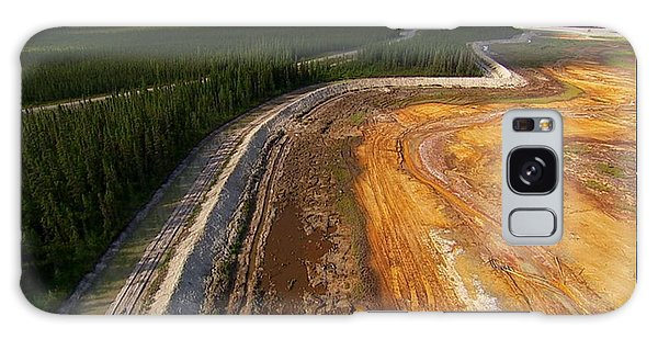 Perfect Poster Of An Ugly Polluted Landscape Of North America Read Canada Galaxy Case