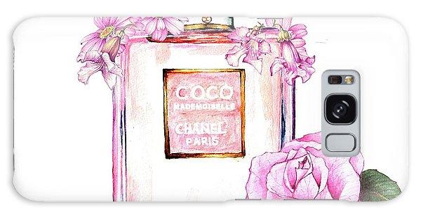 Perfume Florals Galaxy Case