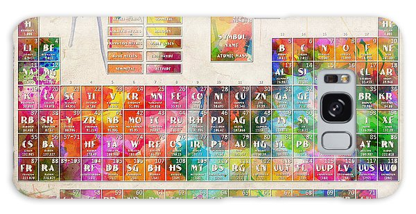 Periodic Table Of The Elements 10 Galaxy Case