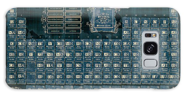 Periodic Table Of The Elements Vintage 4 Galaxy Case