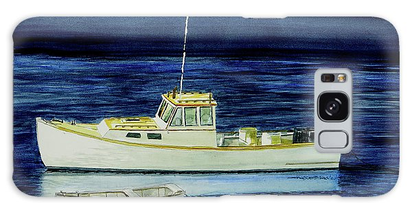 Perkins Cove Lobster Boat And Skiff Galaxy Case