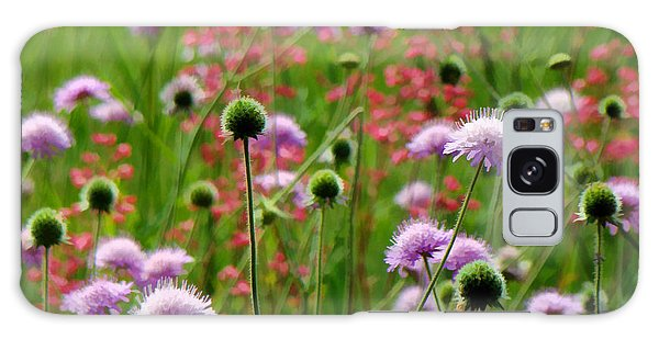 Perky Chives Galaxy Case