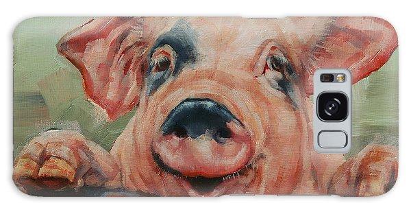 Perky Pig Galaxy Case