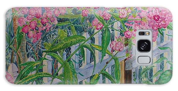 Perky Pink Phlox In A Dahlonega Garden Galaxy Case