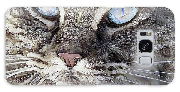 Perry The Persian Cat Galaxy Case
