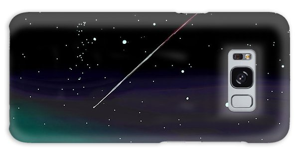 Perseid Meteor Shower  Galaxy Case