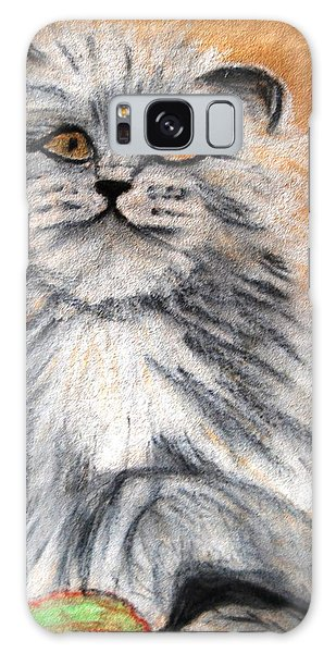 Persian Cat Galaxy Case