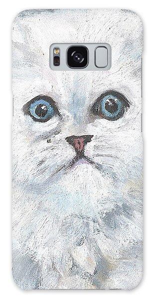 Persian Kitty Galaxy Case by Jessmyne Stephenson