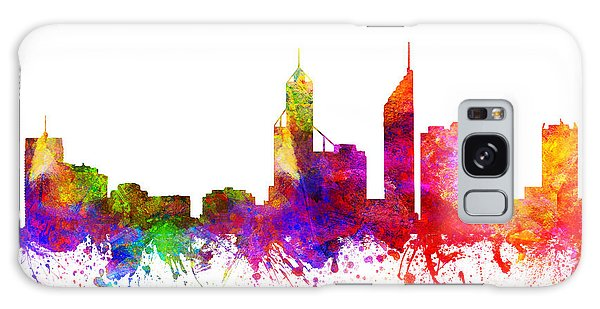 Colours Galaxy Case - Perth Australia Cityscape 02 by Aged Pixel