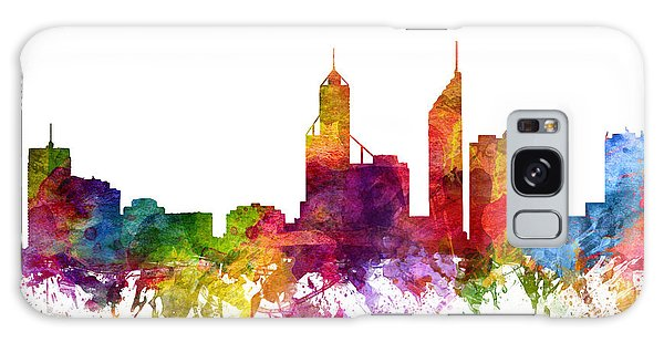 Colours Galaxy Case - Perth Australia Cityscape 06 by Aged Pixel