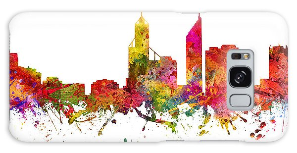 Colours Galaxy Case - Perth Australia Cityscape 08 by Aged Pixel