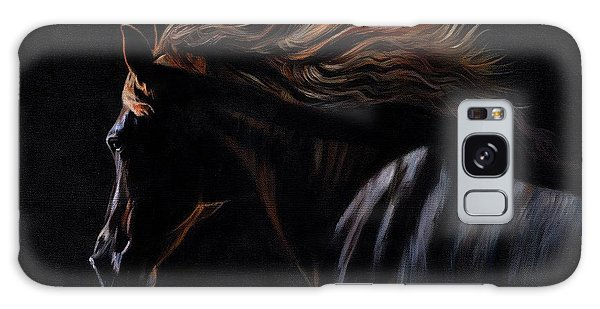 Peruvian Paso Horse Galaxy Case by David Stribbling