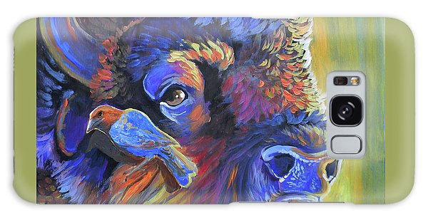 Pesky Cowbird Galaxy Case