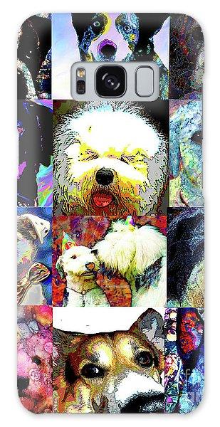 Pet Portraits Galaxy Case by Alene Sirott-Cope