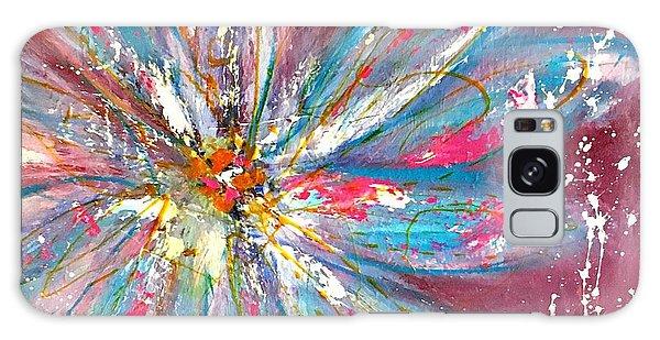 Petals Exploding Galaxy Case