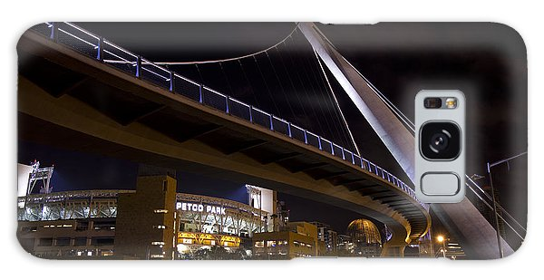 Galaxy Case featuring the photograph Petco Park And The Pedestrian Bridge by Nathan Rupert