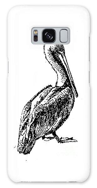 Pete The Pelican Galaxy Case