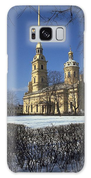 Peter And Paul Cathedral Galaxy Case