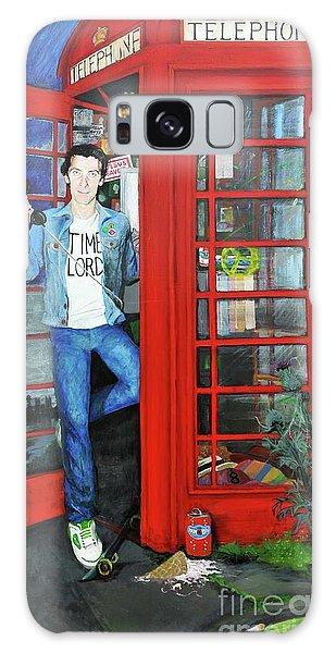 Peter Capaldi Dr Who Putting You Through Galaxy Case