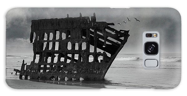 Peter Iredale Galaxy Case - Peter Iredale Shipwreck At Oregon Coast by Art Spectrum