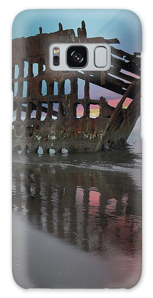 Peter Iredale Galaxy Case - Peter Iredale Shipwreck At Sunrise by Art Spectrum