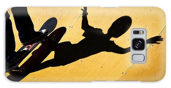 Peter Pan Skate Boarding Galaxy Case