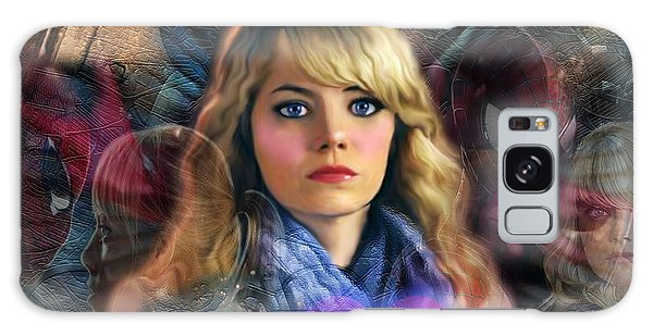 Peter Parker's Haunting Memories Of Gwen Stacy Galaxy Case by Barbara Tristan