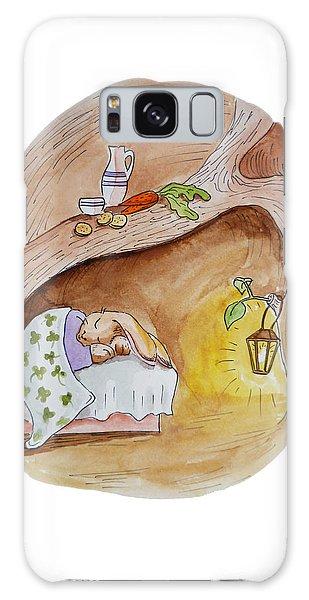 Peter Rabbit  Galaxy Case by Irina Sztukowski