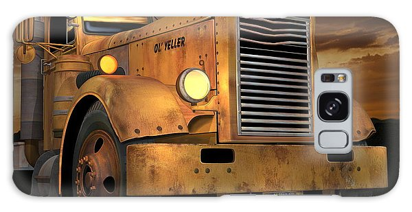 Semis Galaxy Case - Peterbilt Ol Yeller by Stuart Swartz