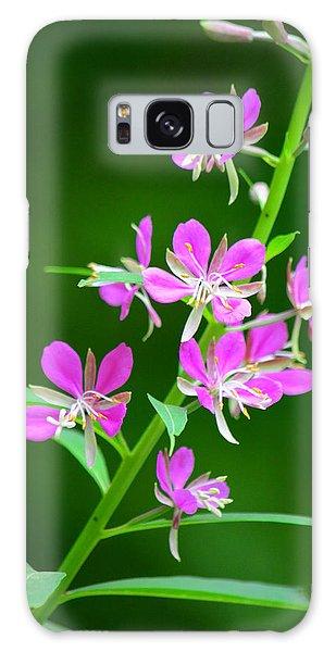 Petites Fleurs Violettes Galaxy Case