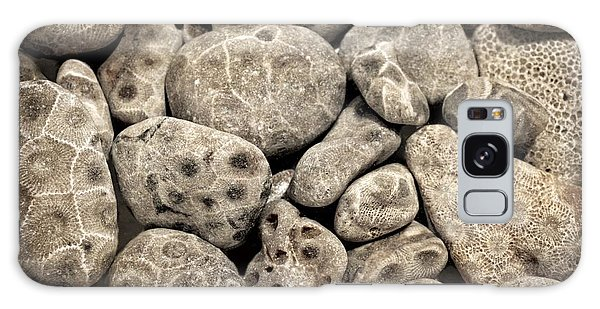 Petoskey Stones Vl Galaxy Case
