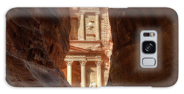 Petra Treasury Revealed Galaxy Case