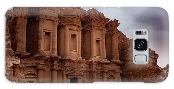 Petra's Monastery Galaxy Case