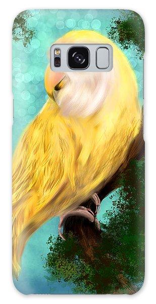 Petrie The Lovebird Galaxy Case